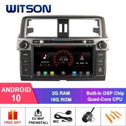 Processeurs quatre coeurs Witson Android 10 Lecteur de DVD de voiture pour Toyota Prado 2014 2G RAM 16 Go de mémoire ROM