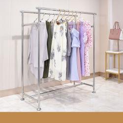 Étagère en métal de la mode des vêtements pour les spectacles chiffon Boutique Rack d'affichage