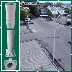 straatlantaarn Pool van het 10m de Witte Roestvrij staal voor Parkeerterrein