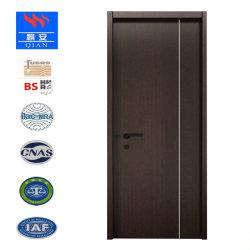 Innenraum-lamellenförmig angeordnete hölzerne Furnierholz-Tür für Lagerraum (SM-VN-08)