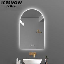 Более современные функции Anti-Fog часы Bluetooth простой Smart Home Отель ванная комната с наружных зеркал заднего вида светодиодный индикатор