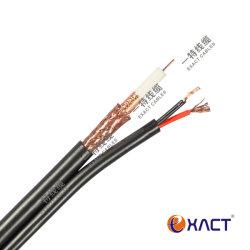 통신 CCTV CATV CPR ECA RG59 + DC/RG59 + 전원/RG59 + 2x0.5/RG59 + 2x0.75 복합 동축 케이블(A)