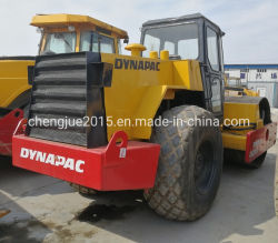 il rullo compressore utilizzato 9550kg Dynapac Ca251 sceglie i rulli vibranti del timpano da vendere