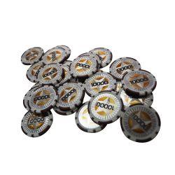11.5g ABS de Spaanders van de Pook met Stickers van de Ster van de Douane de Brekings