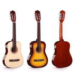 Banheira de venda a preço reduzido de instrumentos musicais violão acústico Spruce Superior para principiante