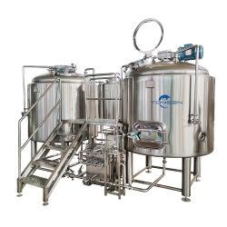 Attrezzatura per fabbrica di birra chiavi in mano per birreria artigianale Pianta