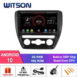 "Grande ecrã de 10,2"" Witson Android Market 10 aluguer de DVD para a Volkswagen Jetta 2016"