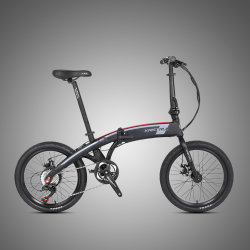 Brushless Motor 250W Bicicleta die Electrica 20 '' Elektrische Fiets vouwen