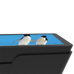 LCD Interactive Android Multi Touch Smart Game Bar Kid Restaurant Tafel Koffie tafel Technologie scherm met koelkast