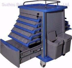 L'équipement médical de la médecine chariot/panier Double Côté 50 Unit