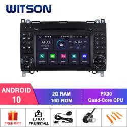 Witson Quad-Core Android 10 per Mercedes-Benz Classe a (W169) (2005-2011) /Classe B (W245) (2009-2011) /Viano/Vito/Sprinter, uscita video completa Classe V (2010-2011)