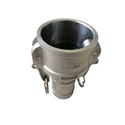 En acier inoxydable de type DP Serrure batteuse SS Couplage304/316