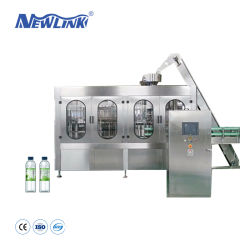 200-2000gros automatique ml Plastique / Ressort / minérale en bouteille l'eau pure Machine de remplissage