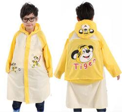 بيع الملابس الساخنة البلاستيك سترة البلاستيكية بولي كلوريد بولي كلوريد معطف للأطفال الأطفال