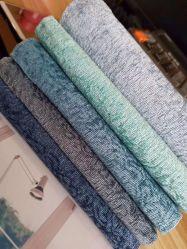 De nouvelles couleurs tissés Tissus de velours de Cachemire