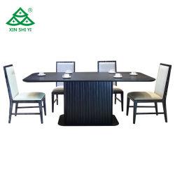 Jeu de table à manger en bois de frêne Ensembles de meubles de salle à manger