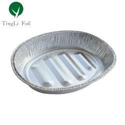 Para llevar una hoja de aluminio desechable de tueste Oval Pan Turquía