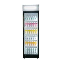 Affichage de boissons commerciales réfrigérateur réfrigérateur congélateur vertical boire l'affichage