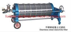 De Filter van de Diatomeeënaarde van het roestvrij staal voor Chemisch product/Voedsel/Olie/Geneesmiddel/Drank