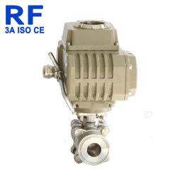 Отверстие в полном объеме РЧ 3 ПК шарового клапана с помощью электропривода