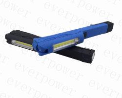 Recargable LED USB COB la luz de trabajo con el lápiz Clip
