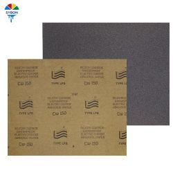 60#-2000# facile à poncer papier abrasif pour bateaux étanches de haute qualité 9 *11 Papier abrasif étanche haute qualité blanc de pouce, feuille de papier sable