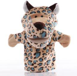 Recheado de brinquedos educativos luvas Professional OEM fantoche de animais do dedo esquerdo