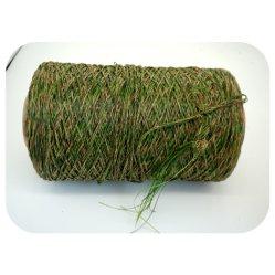 4 색깔 PP+PE 인공적인 잔디 털실