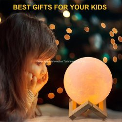 充満を用いる変更の創造的で熱い販売の祝祭のギフトの暖かい満月ランプを着色する