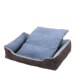 Горячая продажа Установите противоскользящие теплый Пэт собака кровать диван со съемными матрасы подушки сиденья водителя