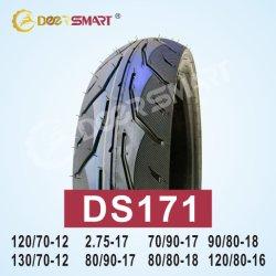 La taille de gros d'usine 80/90-17 Pattern Pneu tubeless ds171 moto