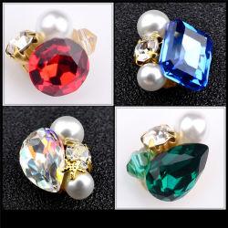 예술 못 훈장 스티커 아름다움 못은 공급 매니큐어 수정같은 돌 모조 다이아몬드 아름다움 기구 Manicure&Pedicure 고정되는 도매 진주를 기울인다