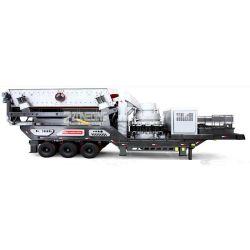 Elektrische aandrijving Trailer Type Hard Stone mobiele Cone Crusher Station Voor secundair vermalen