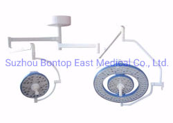 Suspensión de doble cabeza Luz de funcionamiento de Lámpara quirúrgica