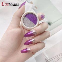 Nouvelle mode Effet miroir rétroviseur solide des clous de la poudre de pigment
