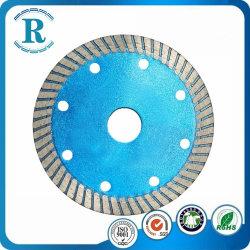 5インチのダイヤモンドの切断ディスクは陶磁器切断および磁器については鋸歯を