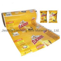 Divers matériaux de conditionnement alimentaire personnalisé de sacs de film pour l'emballage