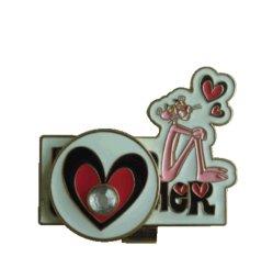 أزياء مخصصة لكرتون معدات الجولف pin Tee Ball Marking مخصص لكسي Laser engrave قبعة مشبك مع علامة الكرات المينا كهدية الديكور (019)