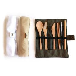Een set bamboe Dinnerware 100% Natural FDA Approval met Douanepakketten