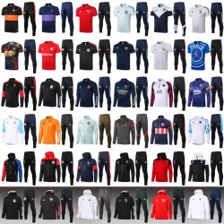 Venda por grosso barato equipa nacional de futebol do treinamento de futebol Fatos de treino para desporto Suits