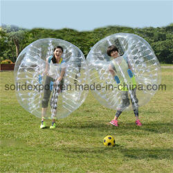 水Zorbの流行の巨大で膨脹可能な球の水公園のための豊富なローラー球