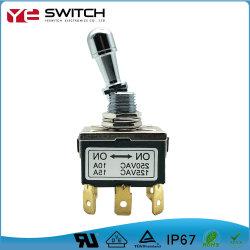 Corrente Alta Trancamento Eléctrico Contato de ouro 15um interruptor de báscula