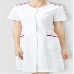 아래로 여자 소형 치마 간호원 제복 작업복에