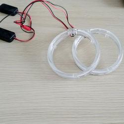 Il guidacarta all'ingrosso dei proiettori LED del xeno della Bi di Lightech squilla gli indicatori luminosi bianchi dell'occhio di angelo di 3inch 95mm
