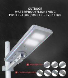 IP65 100W intégré de lumière LED solaire de plein air avec le mélange de couleur