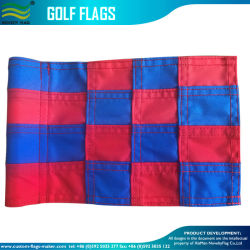Nylonmarkierungsfahne des golf-6X8inches mit Nylongefäß (J-NF33F010112)