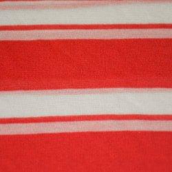 100GSM 100%Rayon Yard Tingidos Stripe Jersey para T-shirt