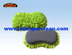 2 en 1 coche limpieza de microfibra, lavar la almohadilla (CN1451)