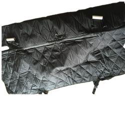 Couvercle de banquette compatible pour ceinture de sécurité du milieu et l'accoudoir s'adapte à la plupart des voitures