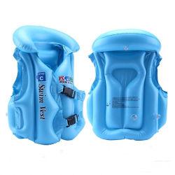 As crianças Piscina Inflável Swimsuit calções de coletes de segurança deriva de natação para crianças